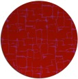 rug #1291451 | round red graphic rug