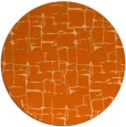 rug #1291459 | round red-orange graphic rug
