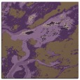 rug #1292167 | square purple abstract rug