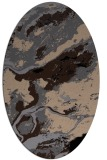 rug #1292295 | oval abstract rug