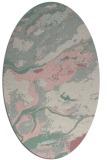 rug #1292407   oval pink abstract rug