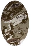 rug #1292599 | oval beige popular rug