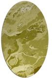 rug #1292623   oval light-green abstract rug