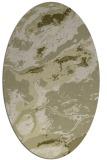 rug #1292627   oval light-green abstract rug