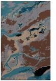 rug #1292667 |  brown abstract rug