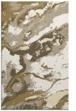 rug #1292975 |  yellow abstract rug