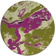 rug #1293267 | round purple abstract rug