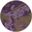 rug #1293271 | round purple abstract rug