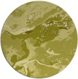 rug #1293359 | round light-green abstract rug