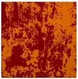 rug #1293967 | square red-orange abstract rug