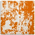 rug #1293971 | square orange abstract rug