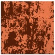 rug #1293979 | square red-orange abstract rug