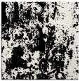 rug #1294047 | square black abstract rug