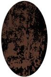 rug #1294139 | oval black rug