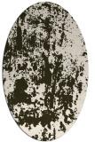 rug #1294309 | oval abstract rug
