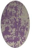 rug #1294311 | oval beige abstract rug