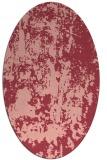 rug #1294359   oval pink abstract rug