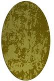 rug #1294463 | oval light-green abstract rug