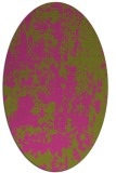 rug #1294471   oval light-green abstract rug