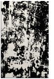 rug #1294495 |  black abstract rug