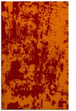 rug #1294703 |  red-orange abstract rug