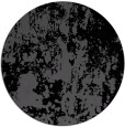 rug #1294867 | round black abstract rug