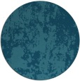 rug #1294927 | round blue-green abstract rug