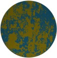 rug #1294935   round blue-green abstract rug