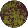 rug #1295107 | round green abstract rug