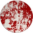 rug #1295119   round red abstract rug