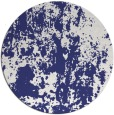 rug #1295159 | round blue abstract rug