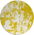rug #1295187 | round yellow abstract rug