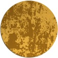 rug #1295191 | round yellow abstract rug