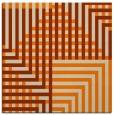 rug #1295595 | square beige graphic rug