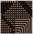 rug #1295607 | square black stripes rug