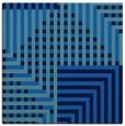 rug #1295627 | square blue stripes rug