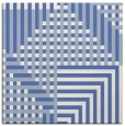 rug #1295643 | square blue graphic rug