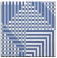 rug #1295643 | square blue retro rug
