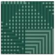 rug #1295651   square blue-green check rug