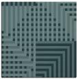 rug #1295667   square blue-green check rug