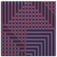 rug #1295691 | square purple check rug