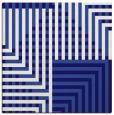 rug #1295695 | square blue-violet retro rug