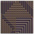 rug #1295699 | square blue-violet retro rug