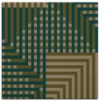 rug #1295707 | square mid-brown check rug
