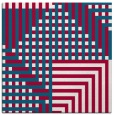 rug #1295711 | square red check rug