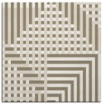 rug #1295759 | square white check rug
