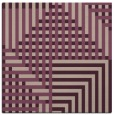 rug #1295763 | square pink check rug