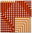 rug #1295811   square orange check rug