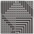 rug #1295819 | square red-orange stripes rug