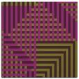 rug #1295843 | square green retro rug